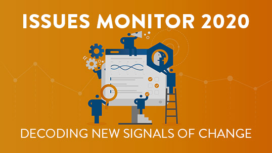 World Energy Issues Monitor 2020: Decoding new signals of change