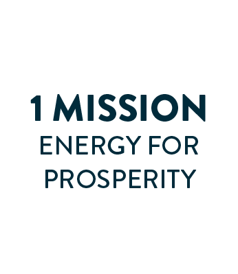 1 Mission - Energy for Prosperity