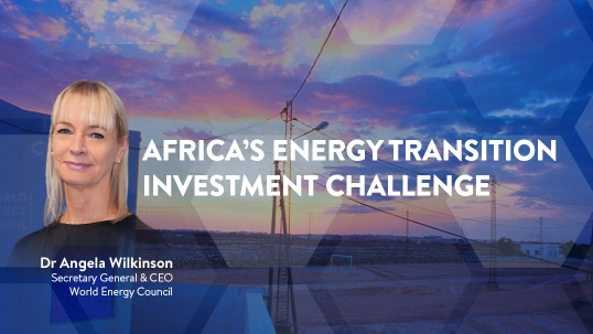 CEO View: Africa's Energy Transition Investment Challenge