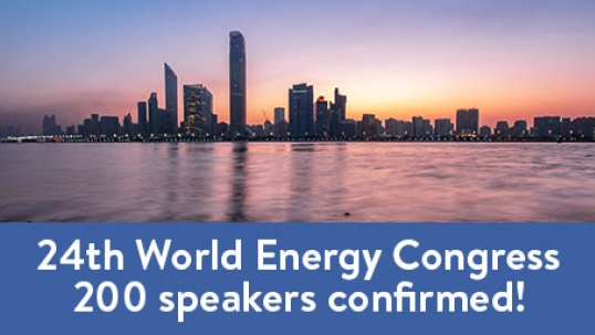 24th World Energy Congress: 200 speakers confirmed!