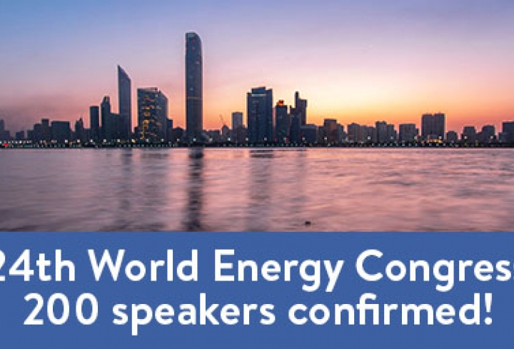 24th World Energy Congress: 200 speakers confirmed! - News & Views