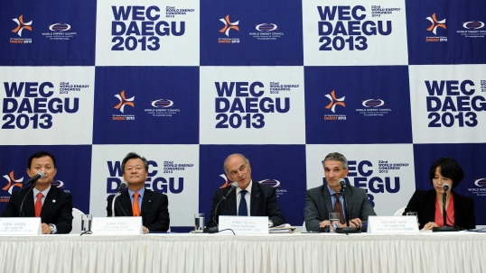 WEC begins one-year countdown to 2013 World Energy Congress