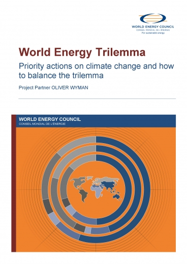 World Energy Trilemma 2015: Priority actions on climate change and how to balance the trilemma