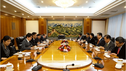 Deepened cooperation with China's National Energy Administration