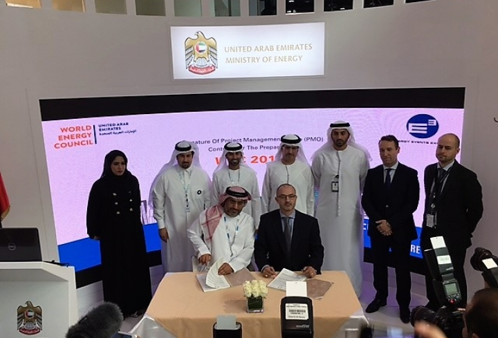UAE signs crucial 24th World Energy Congress project management contract - News & Views