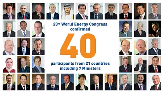 Turkish Government Looks Forward To Hosting 2016 World Energy Congress