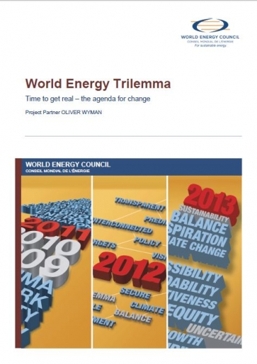 World Energy Trilemma: Time to get real – the agenda for change