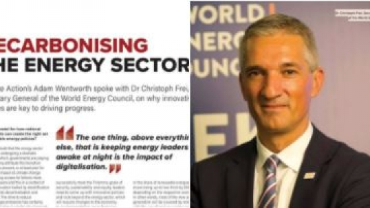 Christoph Frei explores decarbonising the energy sector ahead of COP23