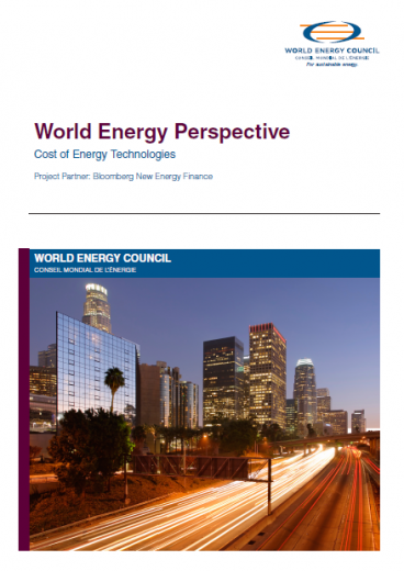 World Energy Perspective: Cost of Energy Technologies