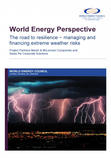 The road to resilience - managing and financing extreme weather risk