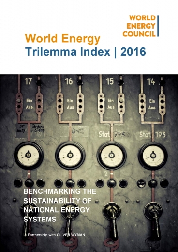 2016 Energy Trilemma Index: Benchmarking the sustainability of national energy systems