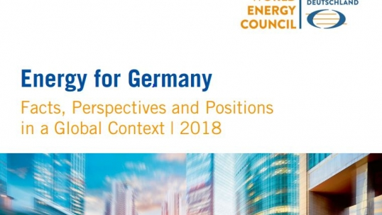 Energy for Germany – facts, perspectives and positions in a global context