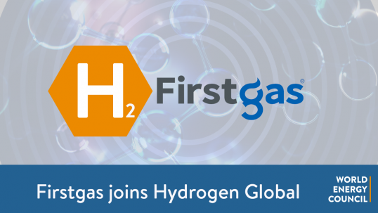 First Gas Joins Hydrogen Global
