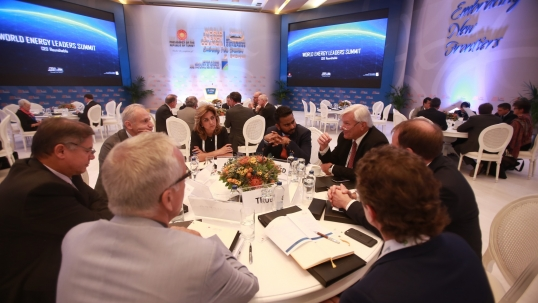 World Energy Leaders' Summit unaffected by current weather conditions