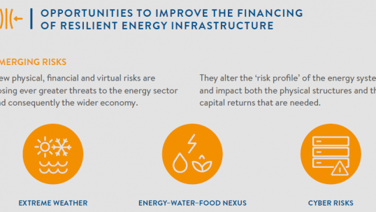 New resilience report: Diverse new risks to energy security demand smart response
