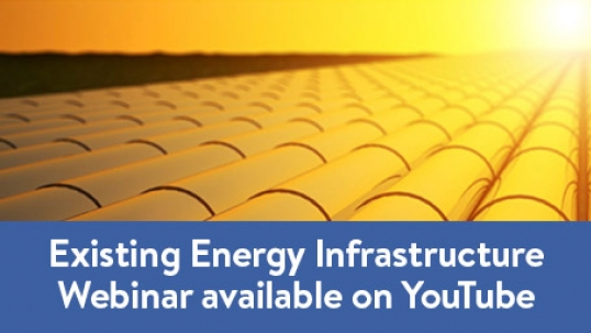 Webinar on Existing Energy Infrastructure hosted by the World Energy Council