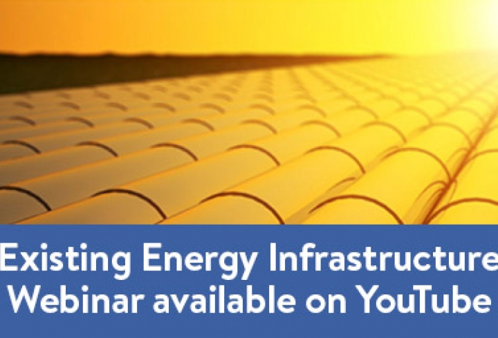 Webinar on Existing Energy Infrastructure hosted by the World Energy Council - News & Views