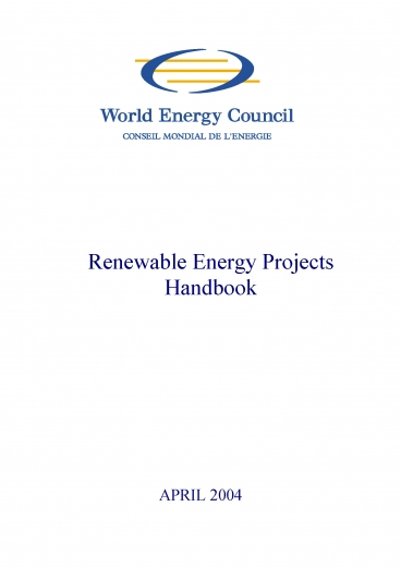 Renewable Energy Projects Handbook