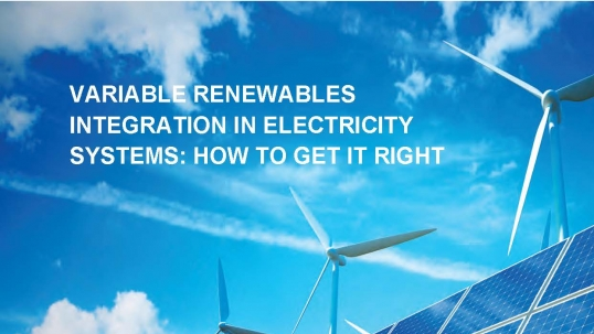 New report on variable renewables: Answers to the integration challenge