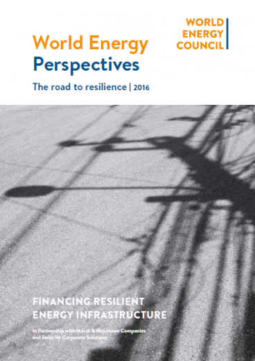 The road to resilience: Financing resilient energy infrastructure