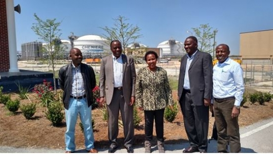 Tanzanian executives examine best practices in LNG policy and management