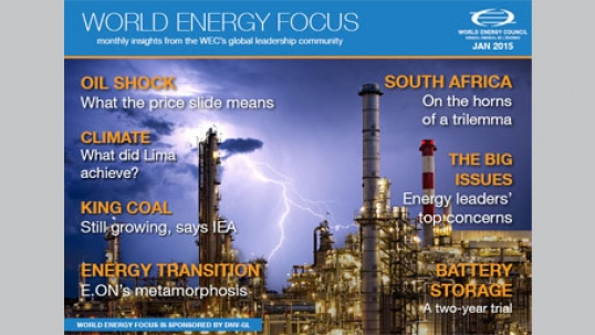 World Energy Focus: read our January issue