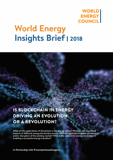 World Energy Insights Brief | Blockchain: Anthology of Interviews