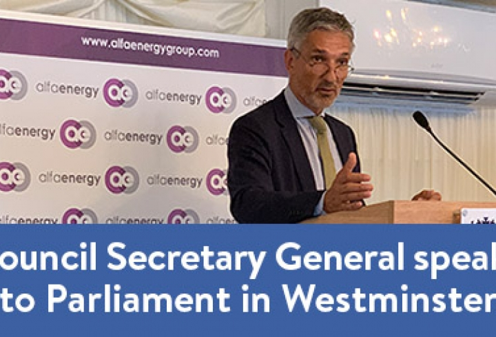 Christoph Frei addresses Parliament in Westminster Abbey - News & Views