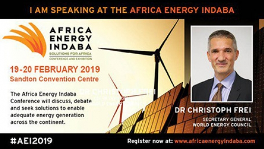 10th World Energy Issues Monitor will be launched on February 19th at Africa Energy Indaba