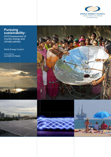 World Energy Trilemma 2010: Pursuing sustainability - Assessment of country energy and climate policies