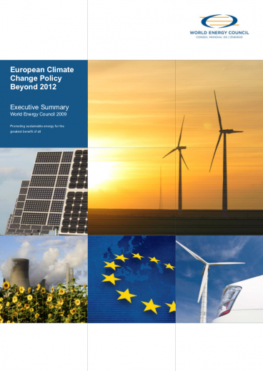 European Climate Change Policy Beyond 2012