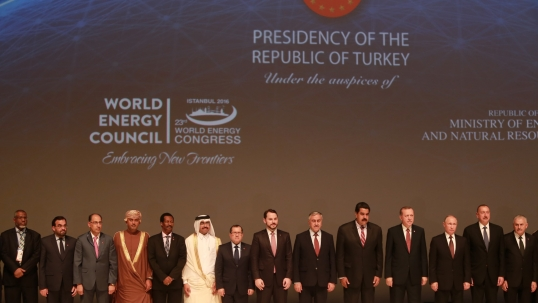 Heads of State address delegates at 23rd World Energy Congress