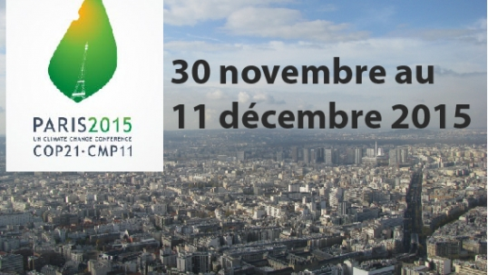Taking part at COP21