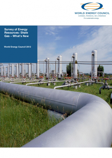 World Energy Resources: Shale Gas – What's New