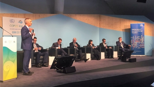 Addressing the climate challenge at COP23